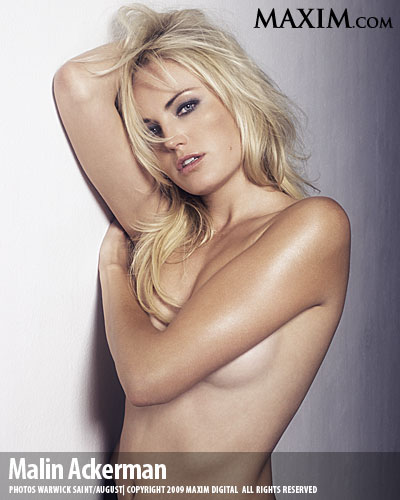 Malin Akerman Topless