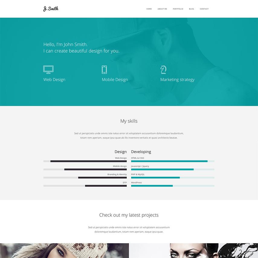 15/03/2018· this portfolio template is good for a ux design freelancer. Web Designer Portfolio Website Template