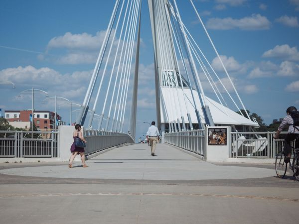 Esplanade Riel and The Forks - The Newsprint