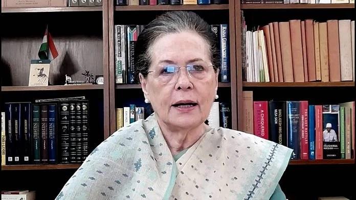 File photo of Congress president Sonia Gandhi   ANI