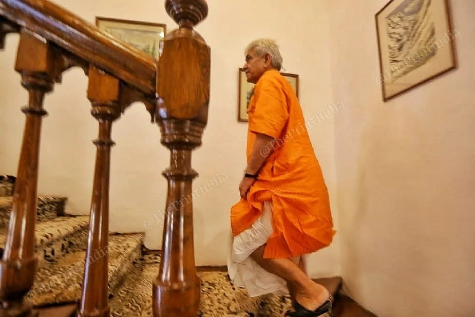 Lieutenant Governor of Jammu and Kashmir Manoj Sinha   Photo: Praveen Jain   ThePrint