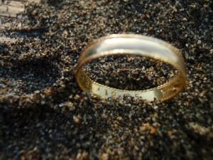 Wreck Beach Gold Ring