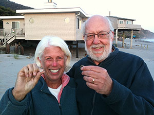 Two lost rings found on Stinson Beach