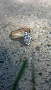 "Lost Gold Diamond Woman's Ring in Gahanna, OH. ""FOUND"""