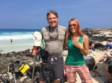 Ring Returned to Laura at Kua Bay