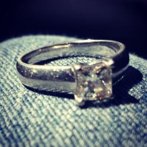 Diamond Platnium Ring