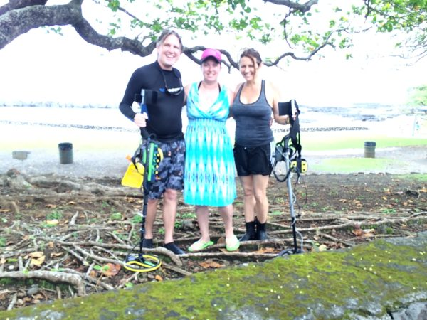 Finding a lost diamond engagement with Big Island Metal Detecting