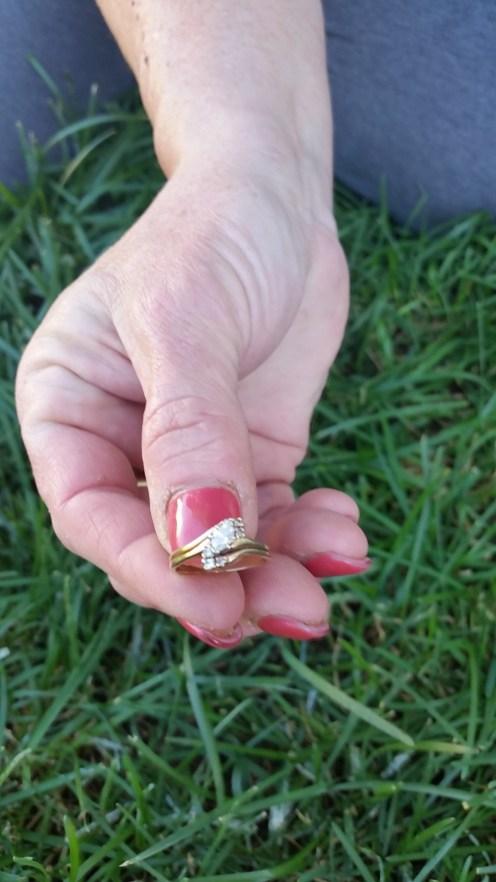 Diane's 32 year old Wedding Ring