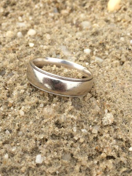 Lost wedding ring in ocean