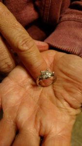 "Lost White Gold Diamond Woman's Ring in Newark, OH. ""FOUND"""