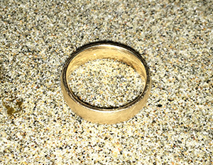 lost wedding ring found in santa cruz
