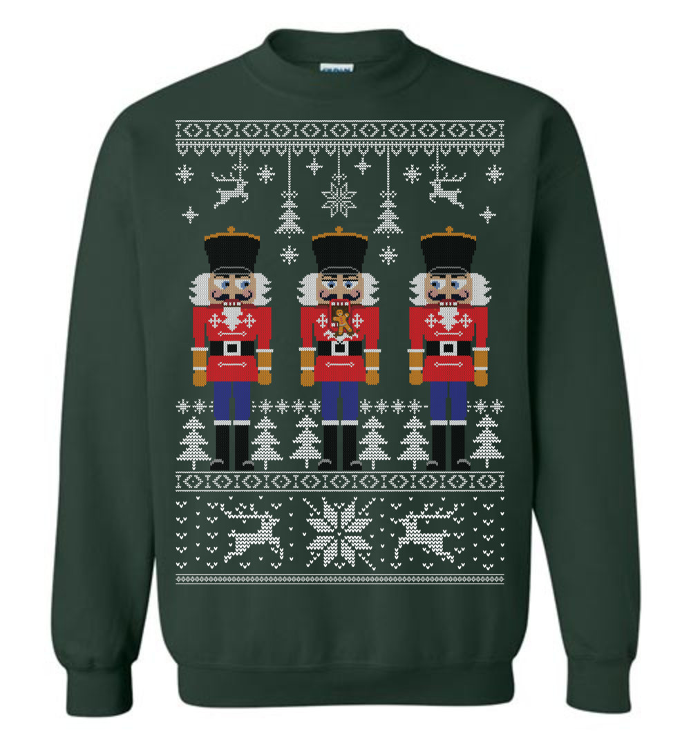 Nutcracker Ugly Christmas Sweater The Wholesale T Shirts
