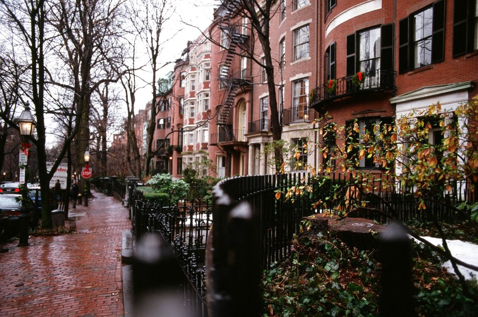 Boston Beacon Street, Beacon Hill