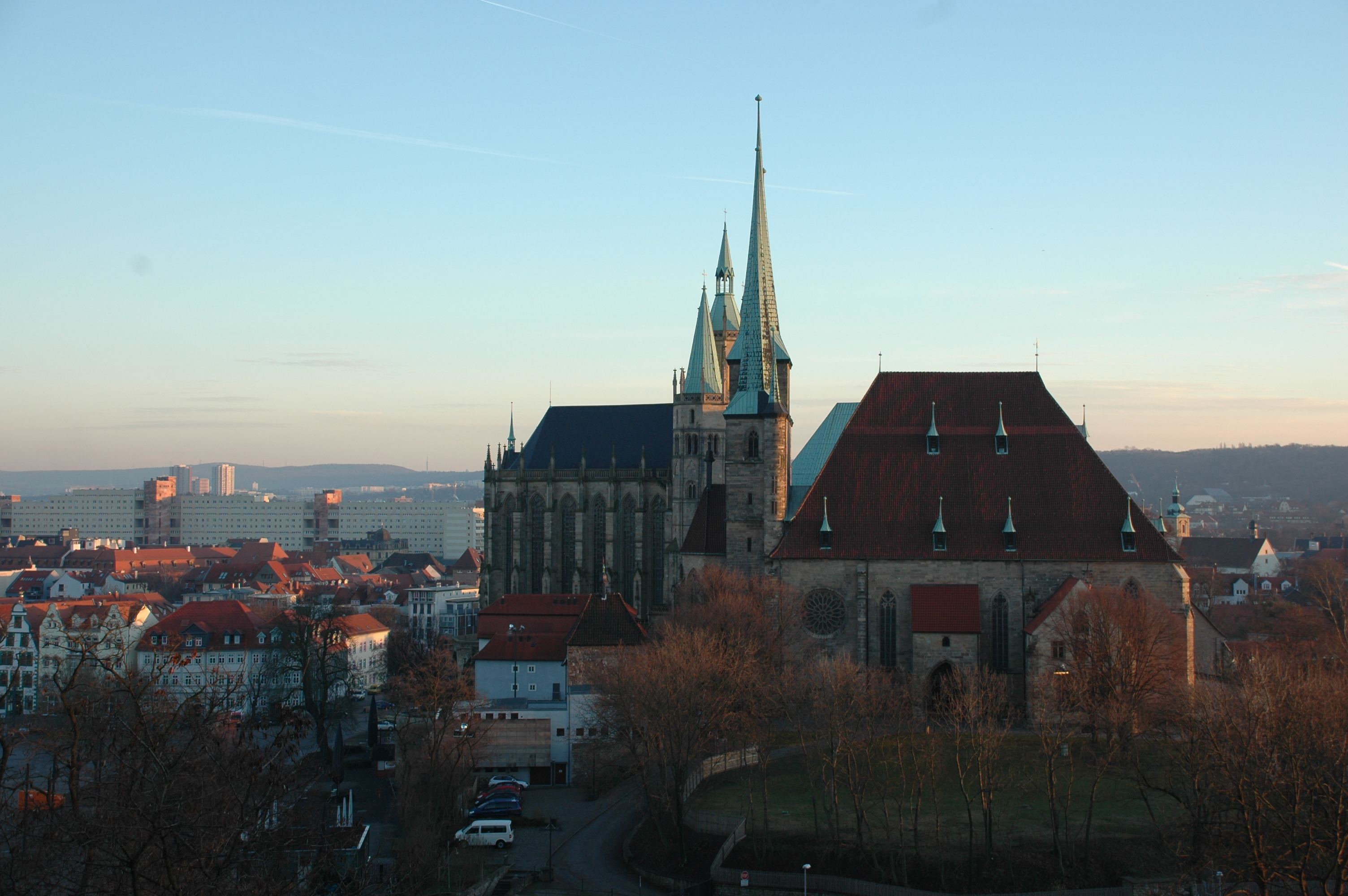 Germany is bordered by the baltic and north seas, denmark to the north, poland and the czech republic to the east,. Erfurt - Town in Germany - Thousand Wonders