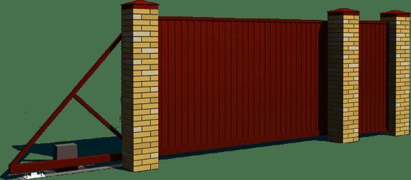 Купить откатные ворота в Екатеринбурге и области
