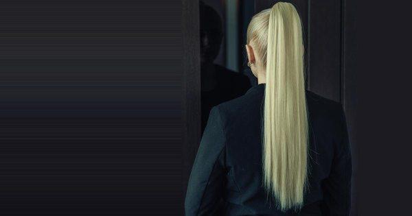 Офисные прически для тонких волос