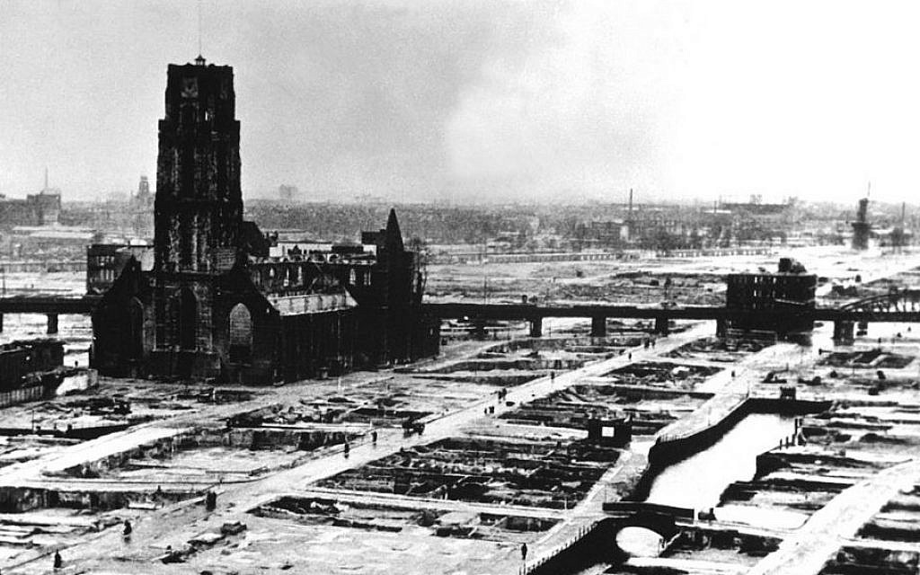 Rotterdams WWII Letter Of Surrender Found 70 Years On
