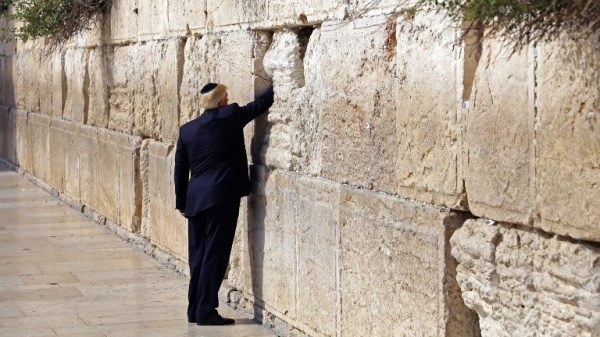 Trump at the Western Wall, a carefully calibrated act of ...