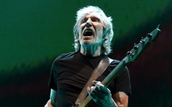 Musician Roger Waters performs during his Us + Them Tour at Staples Center on June 20, 2017 in Los Angeles, California.  (Kevin Winter/Getty Images/AFP)