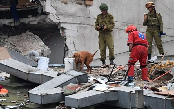 Israeli rescuers search for survivors in Mexico after ...