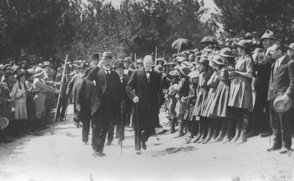 Ahead of Balfour 100, UK enshrines Churchill's headstrong ...