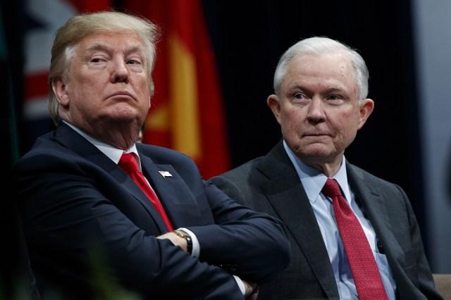 Bildergebnis für Blasted by Trump over Russia Probe, Jeff Sessions Fired as Attorney-general