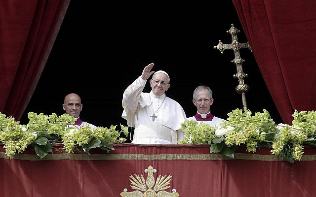 Image result for Easter: Pope calls for peace in Syria, end to violence in holy land