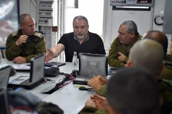 Defense chief convenes military brass as Gaza tensions ...