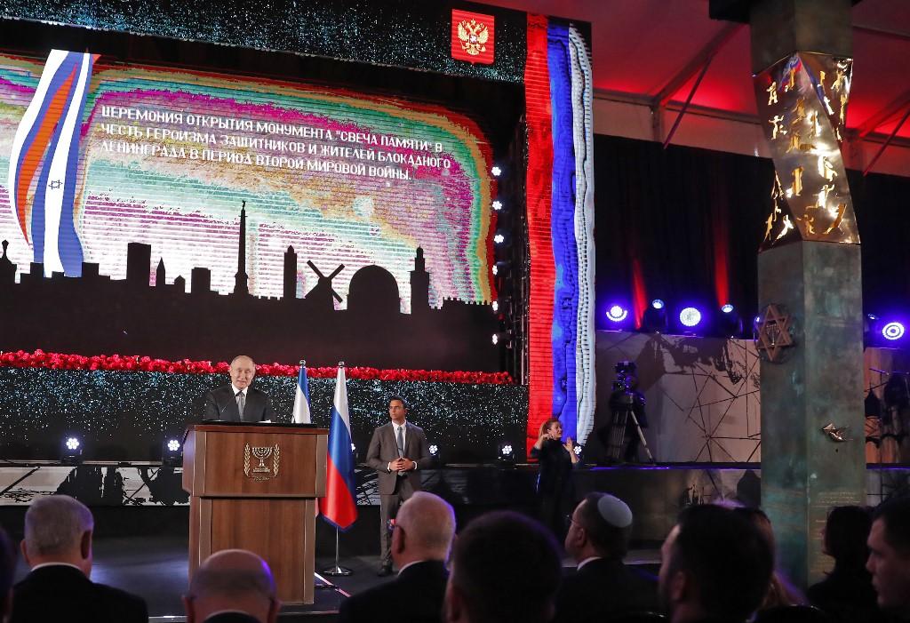 https www timesofisrael com israel russia dedicate jerusalem memorial to wwii leningrad siege