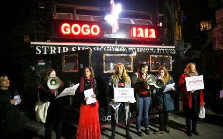 protest against prostitution