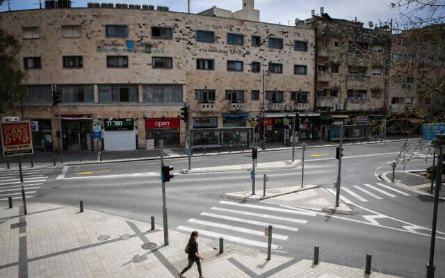イスラエル全土でロックダウンの準備