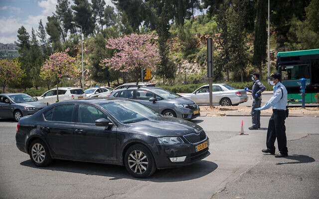 引き続き封鎖されるイスラエルの都市