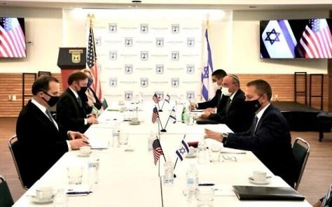 israelis us officials meet