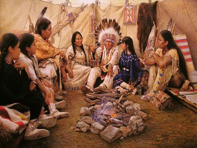Primeiros povos da America apaches