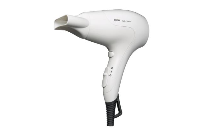 Braun HD 180 Satin Hair Dryer (White)
