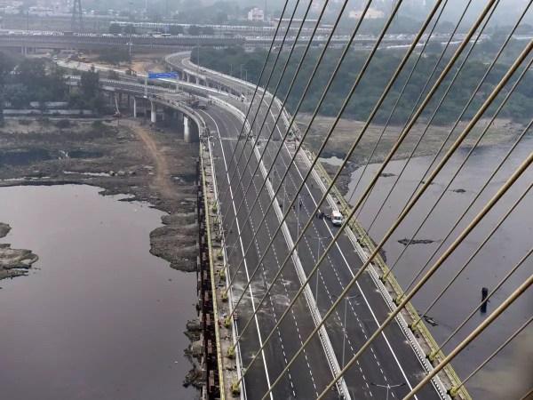 Delhi Signature Bridge: Delhi CM Arvind Kejriwal opens ...