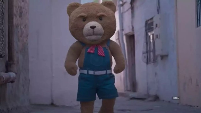 Teddy Review: The teddy bear's funny acts and his chemistry with Arya entertain viewers, but the movie ends as a partially captivating ride, thanks to a slew of