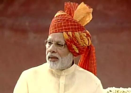 pm modi speech: Highlights of Narendra Modi's Independence ...