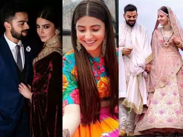Anushka Sharma and Virat Kohli wedding: Bridal couture ...