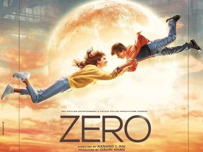 Image result for zero movie poster srk anu