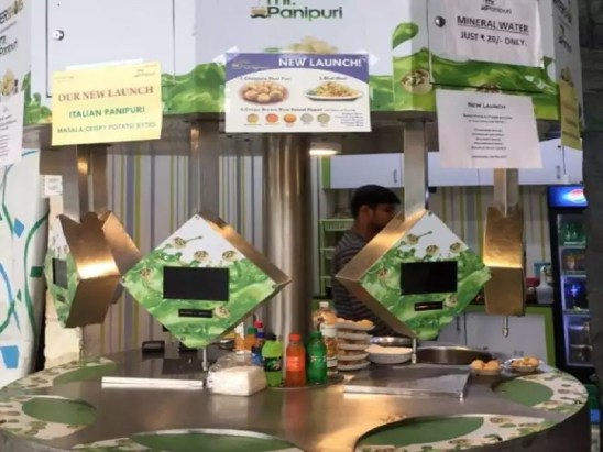 Bengaluru: Pani puri dispensing machine for every street food lover    Bengaluru News - Times of India