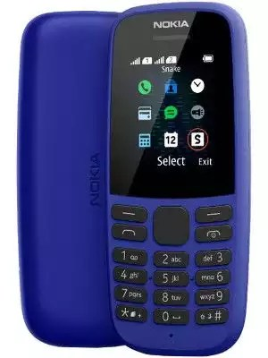 New Nokia 105 Single Sim (2019) -Blue
