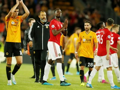 Image result for Pogba misses penalty as Wolves held United to a draw