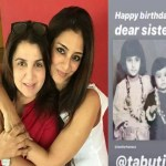 Happy Birthday Tabu Farah Khan Calls Her Jaan While Sister Farah Naaz Shares A Childhood Picture Hindi Movie News Times Of India