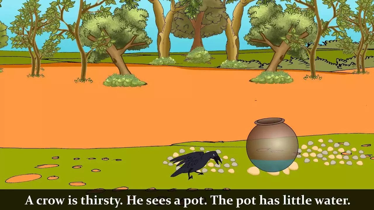 Watch Popular Children English Story The Thirsty Crow For Kids Check Out Kids S Nursery Rhymes An And Baby Songs In English Entertainment Times Of India Videos