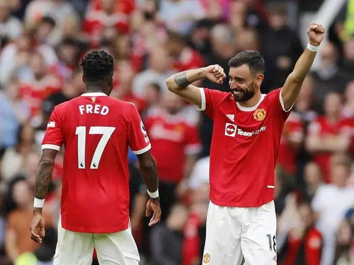 Premier League, Manchester United vs Leeds United Highlights: Man United  beat Leeds United 5-1 in season opener - The Times of India