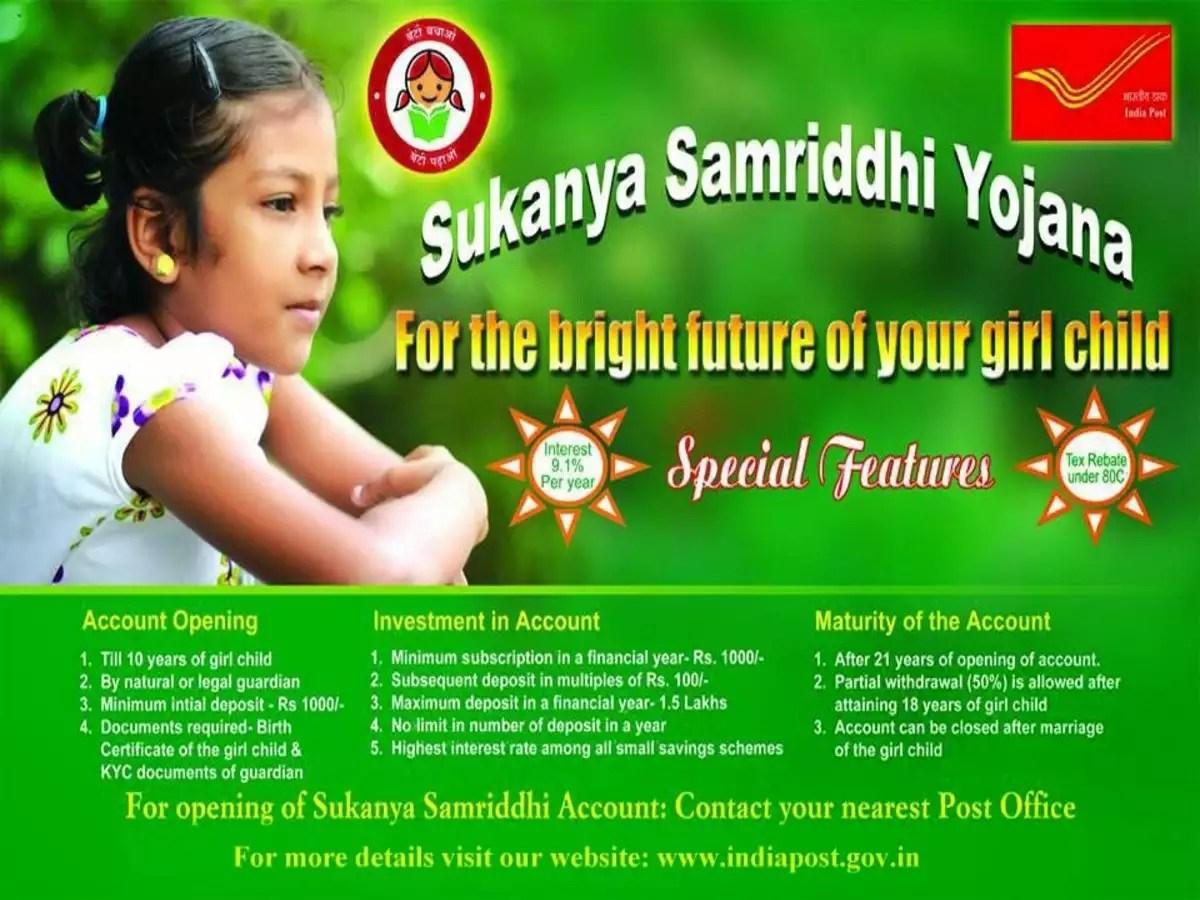 Sukanya Samruddhi Yojana Scheme India