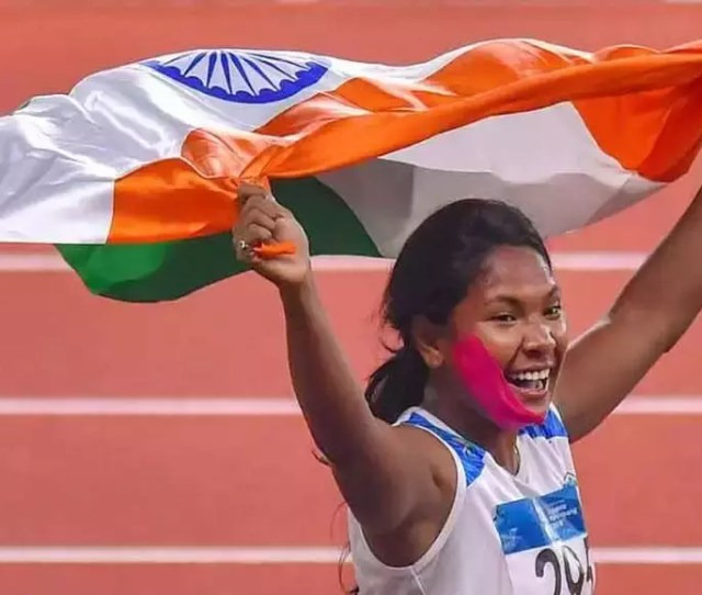 Asian Games Gold For Rickshaw Pullers Daughter In Heptathlon Asian Games  News Times Of India