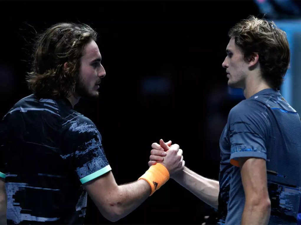 Stefanos Tsitsipas thrashes Alexander Zverev to reach ATP semis   Tennis News - Times of India