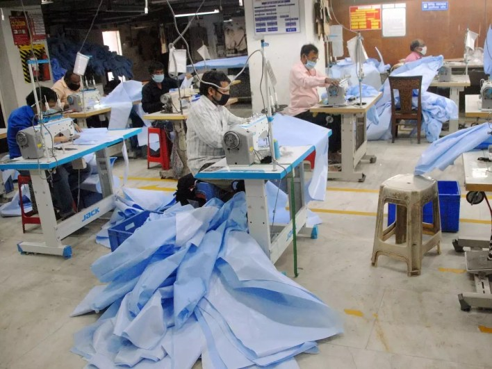 covid-19: india likely to produce 2 crore ppe by june-end   india news - times of india